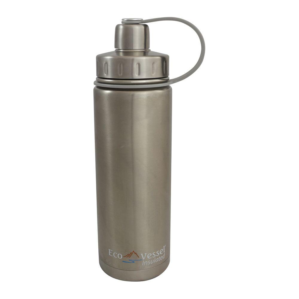 Eco Vessel 20 oz. Boulder Triple Insulated Bottle with Sc...