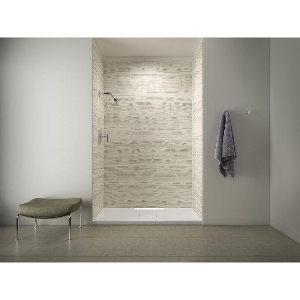 Beau Shower Base With Choreograph 96 In.