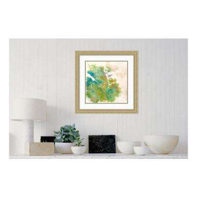 24.00 in. W x 24.00 in. H Lichen 1 by Elisa Sheehan Printed Framed Wall Art