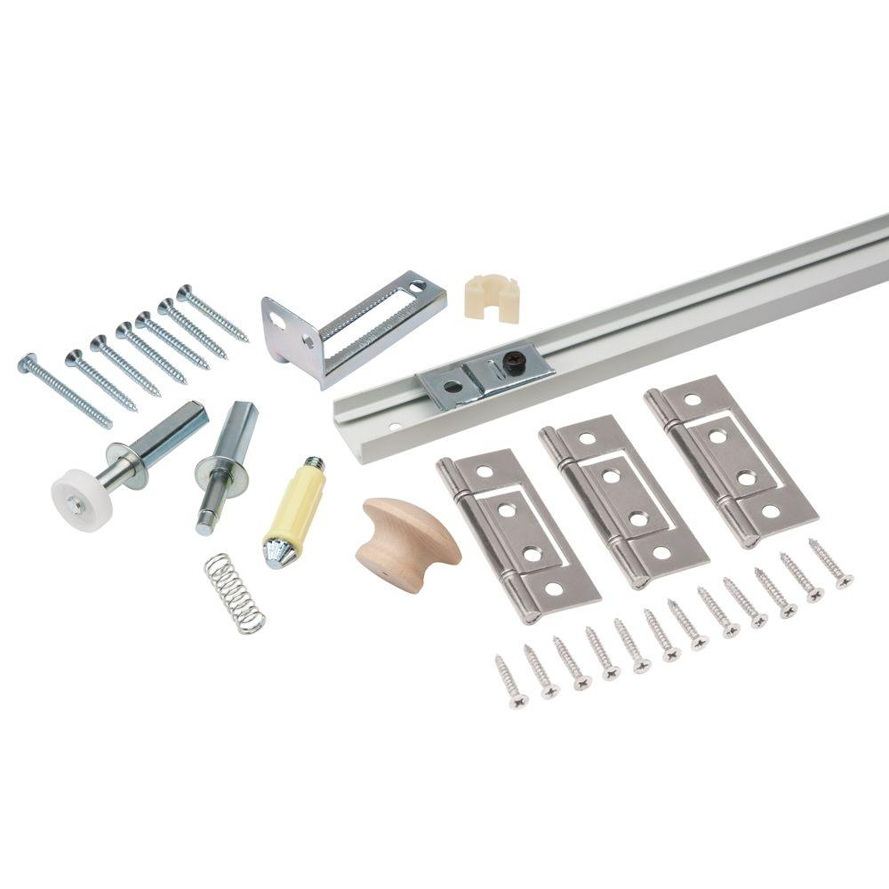 Everbilt 36 in. Bi-Fold Door Hardware Set-18401 - The Home Depot