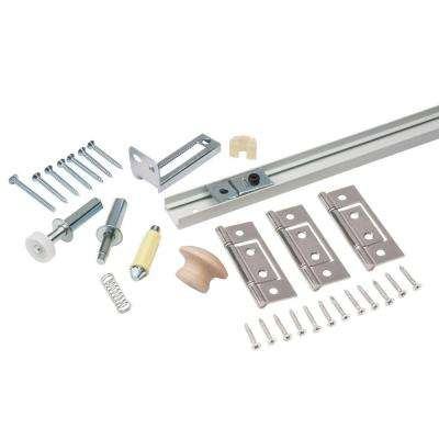 36 in. Bi-Fold Door Hardware Set
