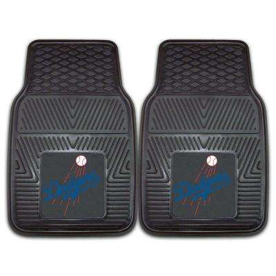 Los Angeles Dodgers 18 in. x 27 in. 2-Piece Heavy Duty Vinyl Car Mat