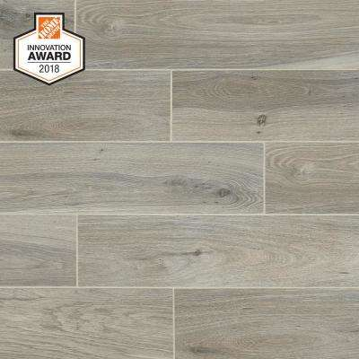 Ember Wood 6 in. x 24 in. Glazed Porcelain Floor and Wall Tile (14.55 sq. ft. / case)