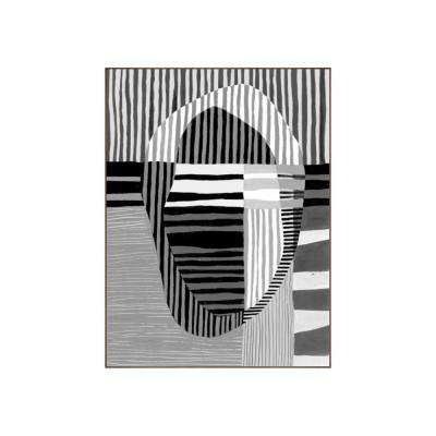 "49.25 in. x 37.25 in. ""Visions I"" by Bobby Berk Printed Framed Wall Art"