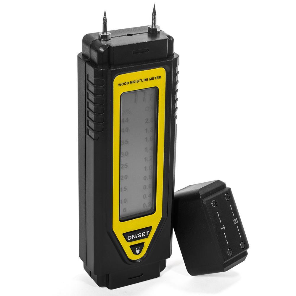Stark 2-Pin Wood/Building Material Pocket Sensor Moisture Meter