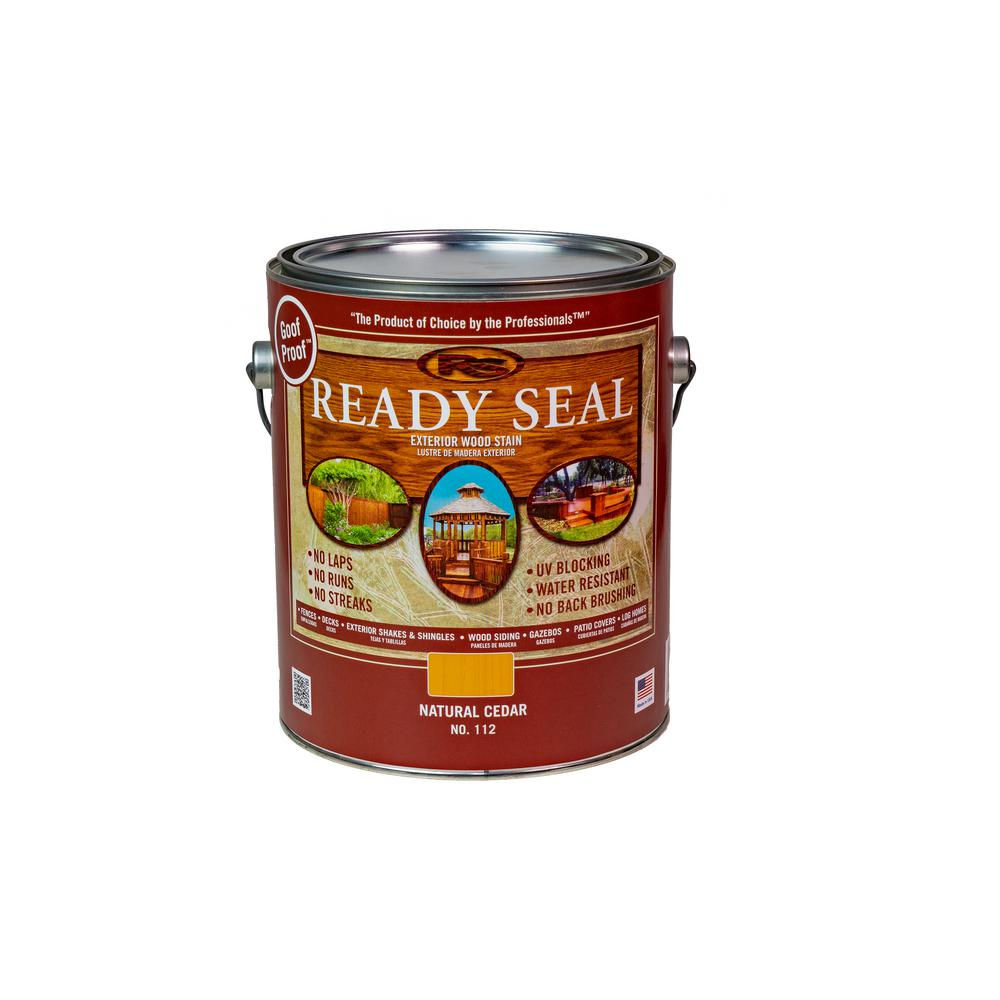 Ready Seal 1 Gal. Natural Cedar Exterior Wood Stain and Sealer