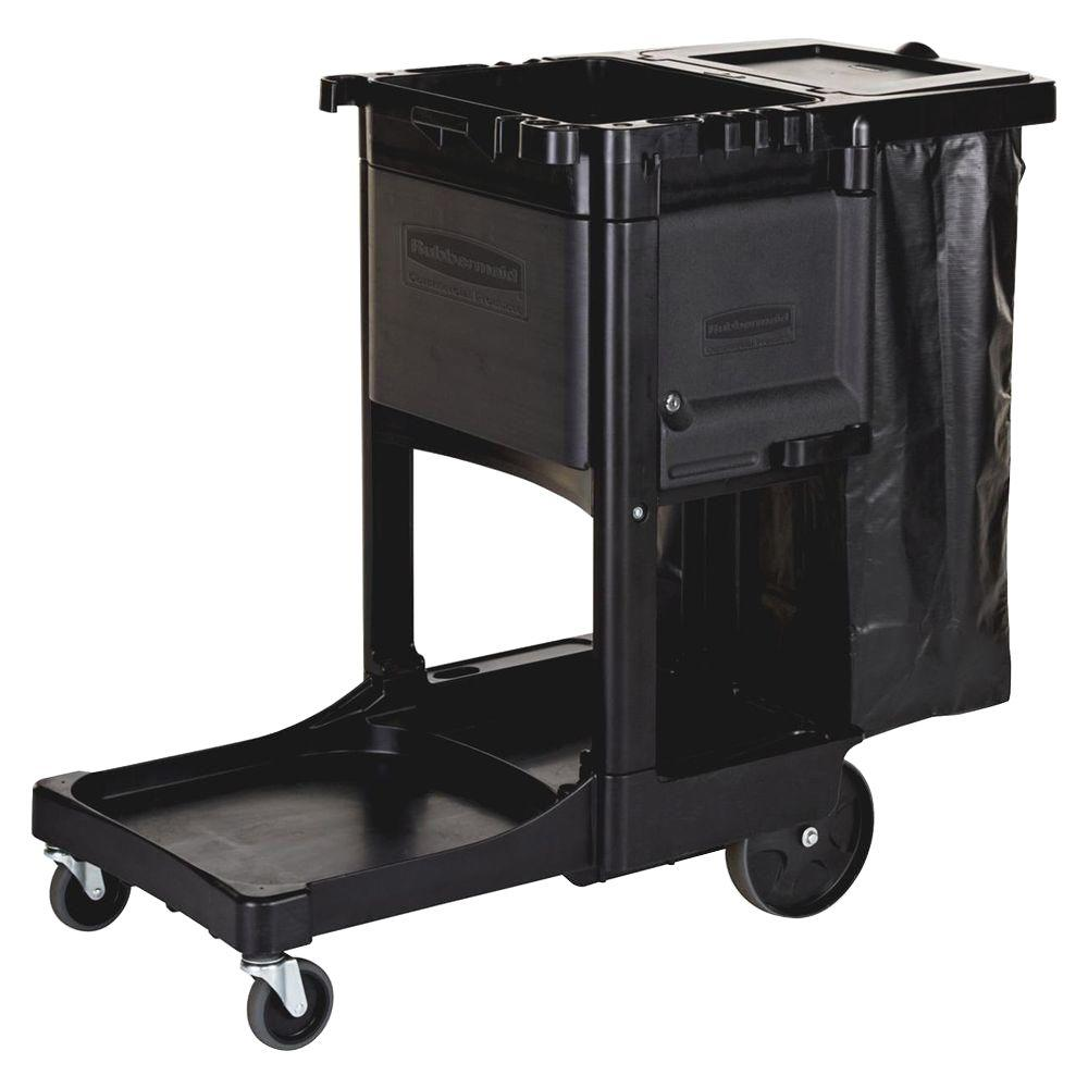 Rubbermaid 21.8 in. x 46 in. x 38 in. Executive Janitor C...
