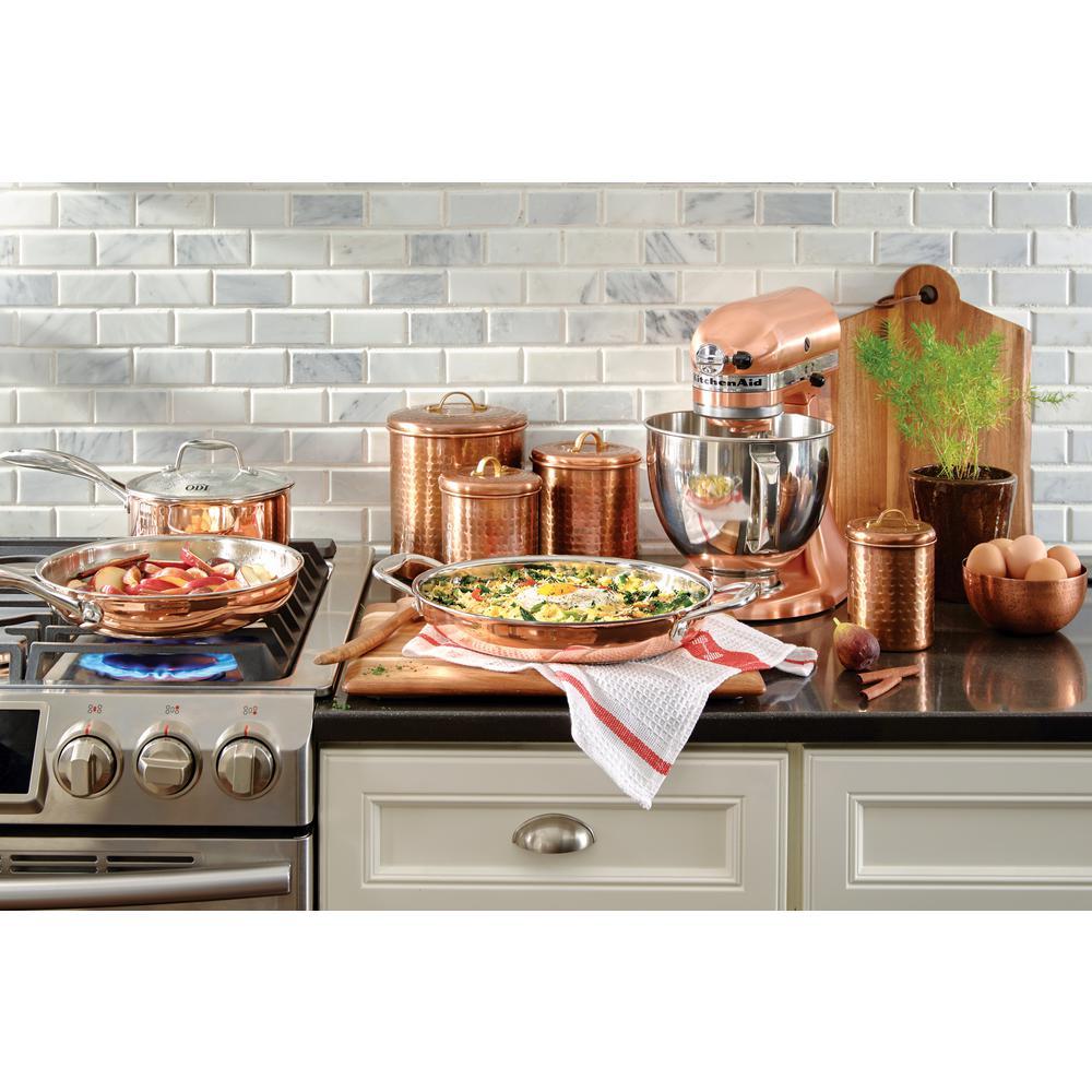 Kitchenaid Custom Metallic 5 Qt Satin Copper Stand Mixer Ksm152pscp