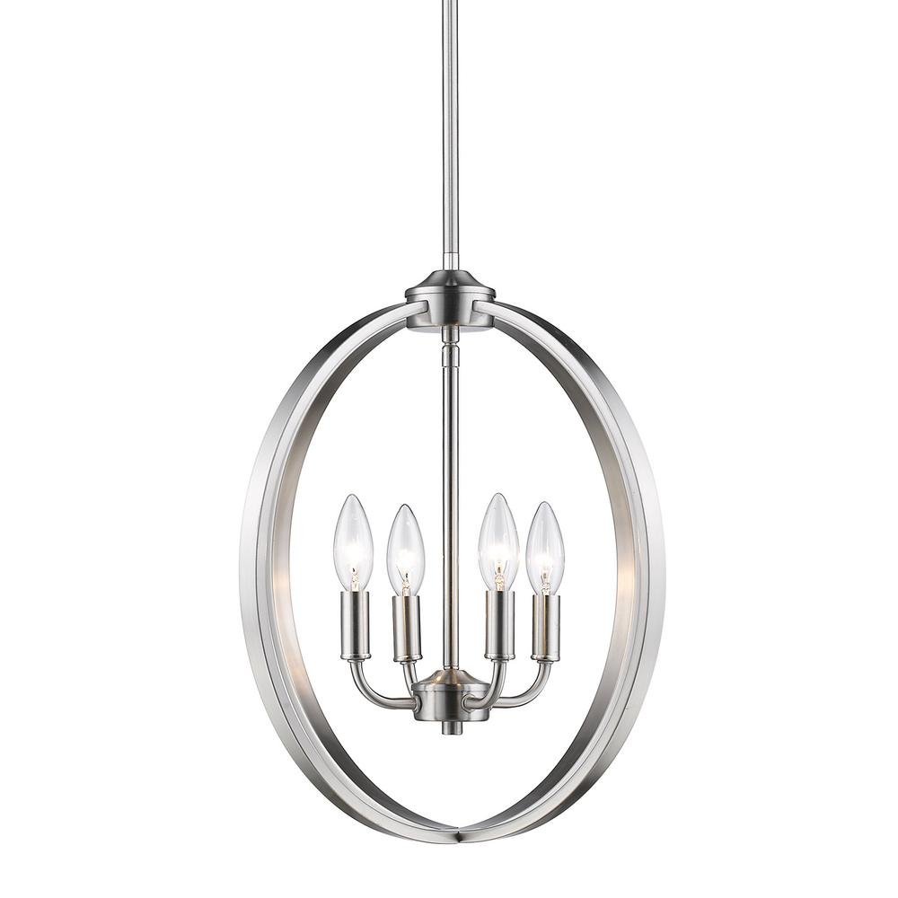 golden lighting chandelier. Golden Lighting Colson PW 4-Light Pewter Chandelier