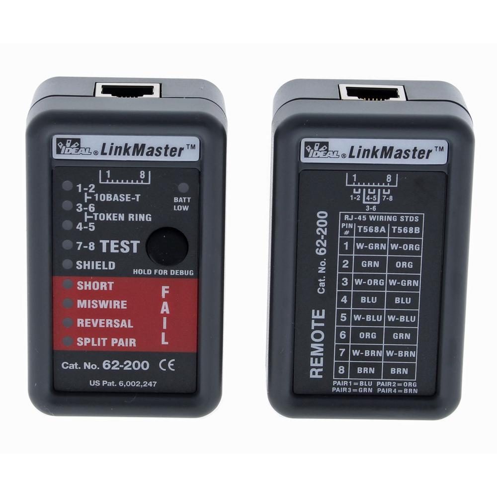 LinkMaster UTP/STP Wiremapper and Tester