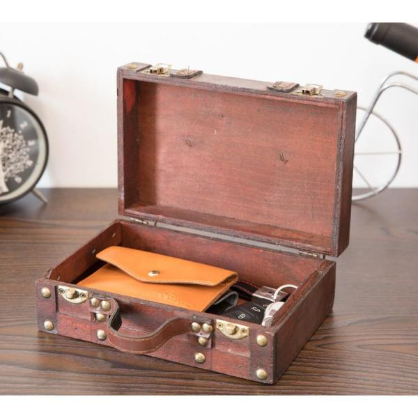 Small Leather Suitcase