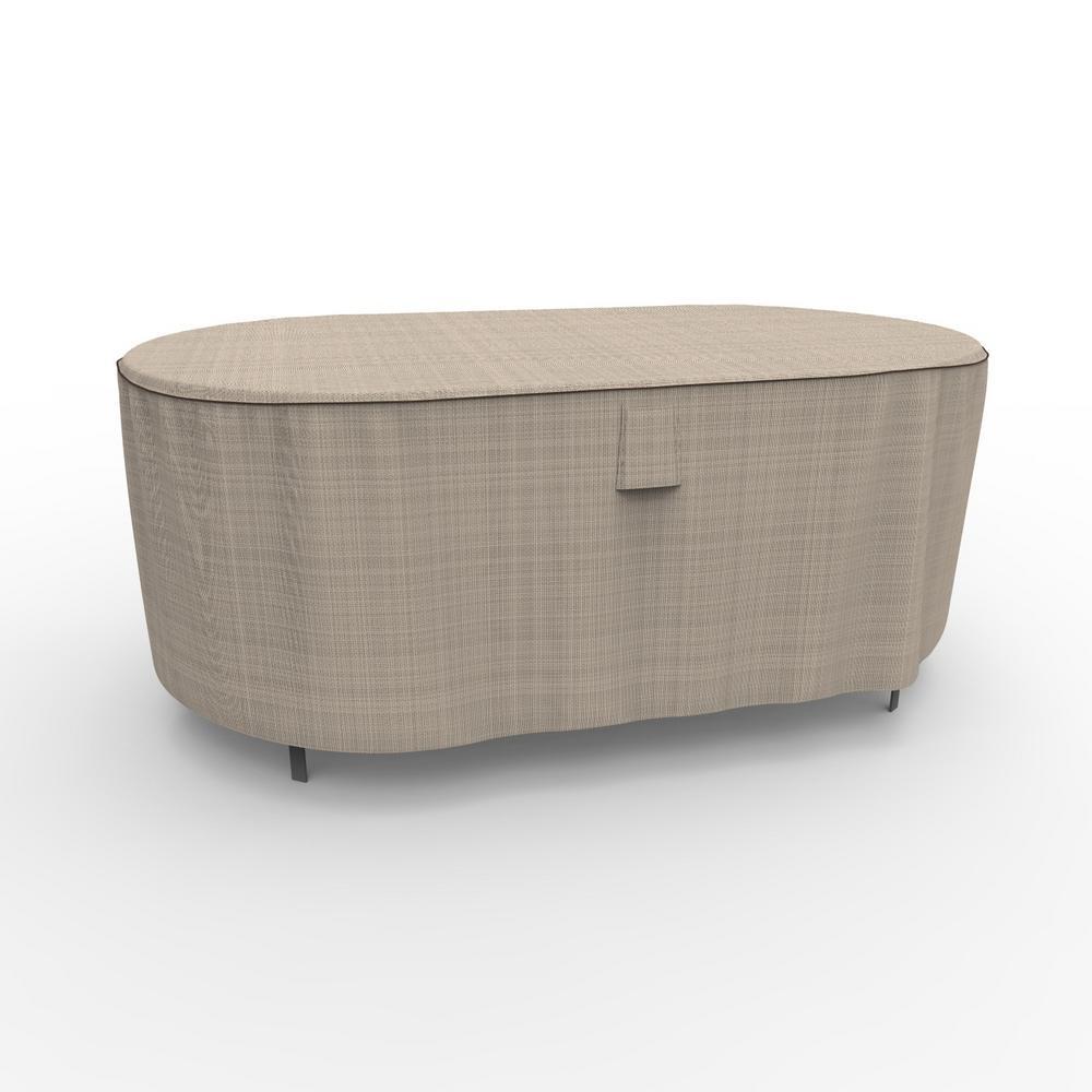 English Garden Medium Oval Patio Table Covers