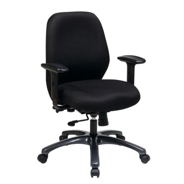 Office Star Products Black Executive Office Chair
