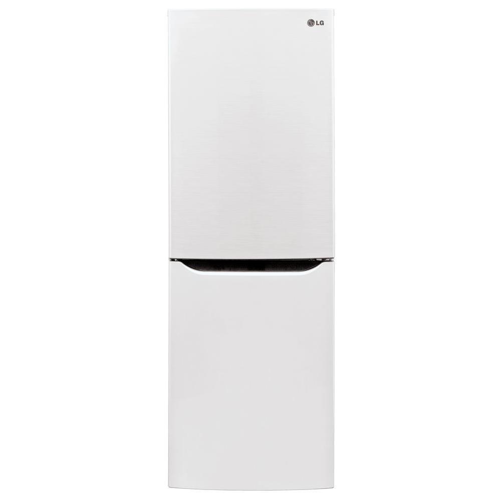 LG Electronics 10 cu. ft. Bottom Freezer Refrigerator in Smooth ...