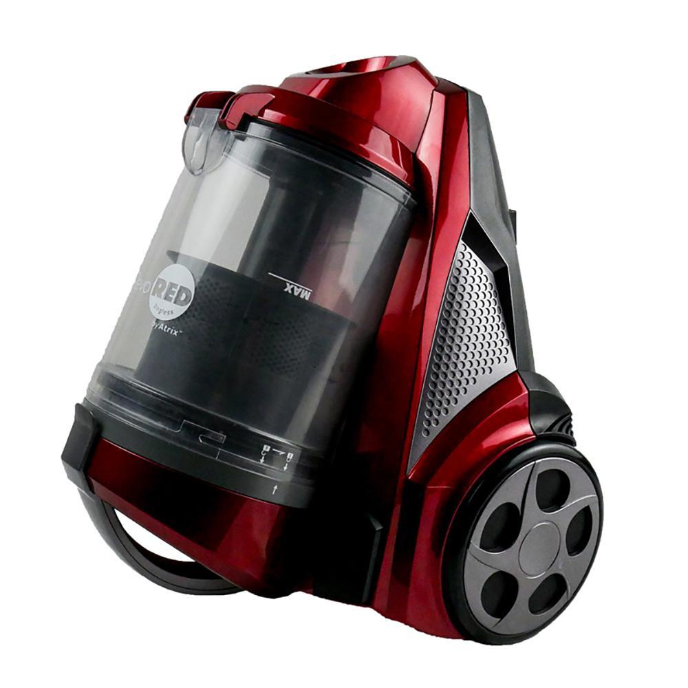 Atrix Revo Red Bagless HEPA Canister Vacuum