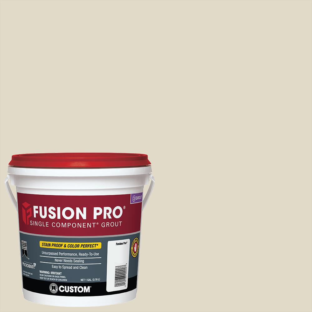 Home Depot Goods: Custom Building Products Fusion Pro #333 Alabaster 1 Gal
