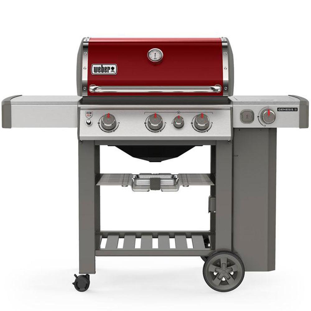 Weber Genesis Ii E 330 3 Burner Propane Gas Grill In