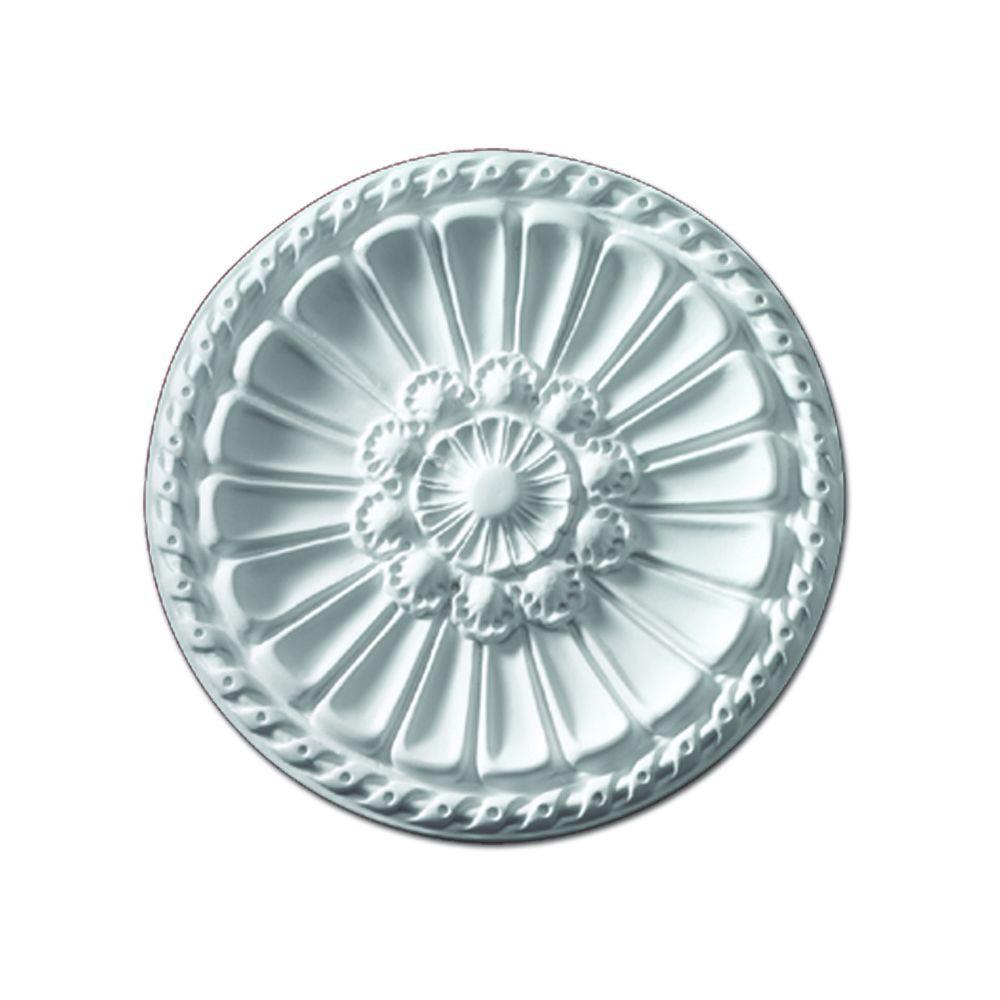 Fypon 14 in. x 14 in. x 1 in. Polyurethane Belmont Ceiling Medallion