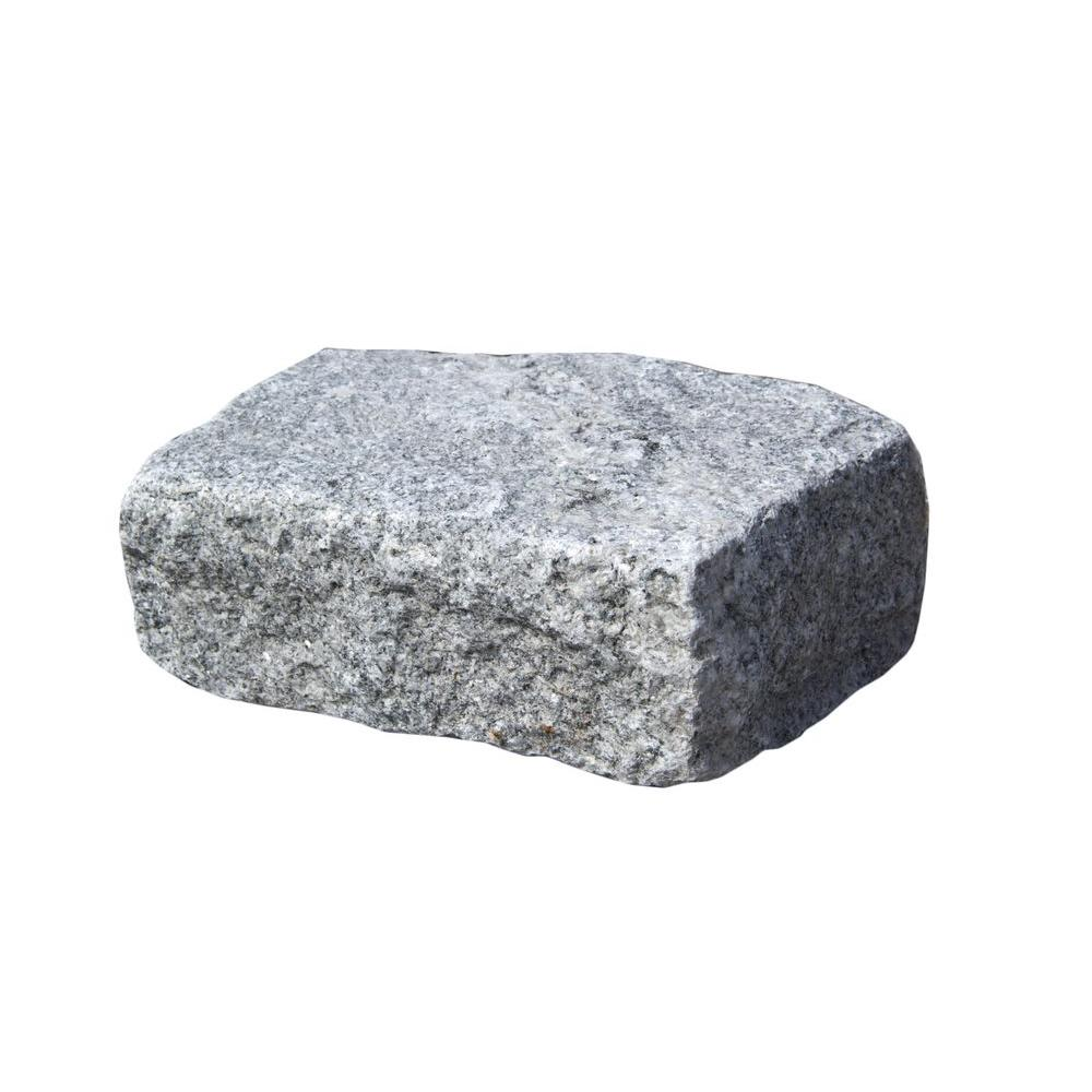 Nantucket Pavers Cobblestone 10 in. x 7 in. x 4 in. Granite Gray Edger Kit (50 pieces per pallet)