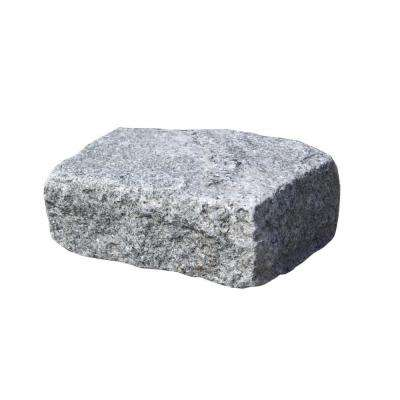 Cobblestone 10 in. x 7 in. x 4 in. Granite Gray Edger Kit