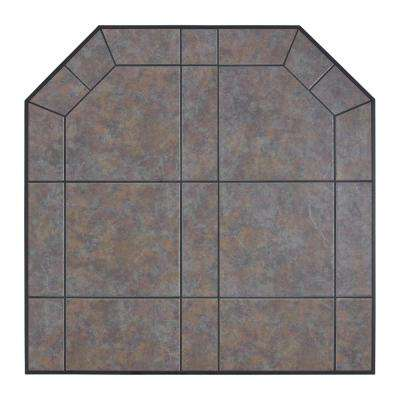 American Classics 40 in. Type 1 Tartara Tile Hearth Pad