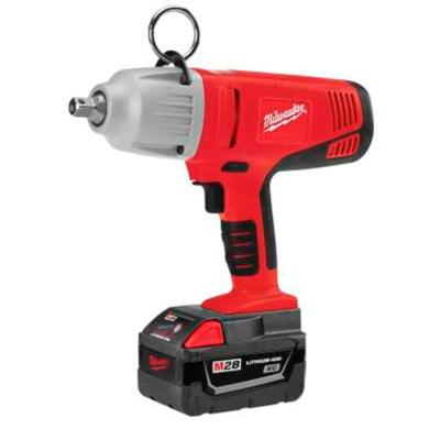 M28 28-Volt Lithium-Ion Cordless 1/2 in. Impact Wrench Kit w/(2) 3.0Ah Batteries & Charger