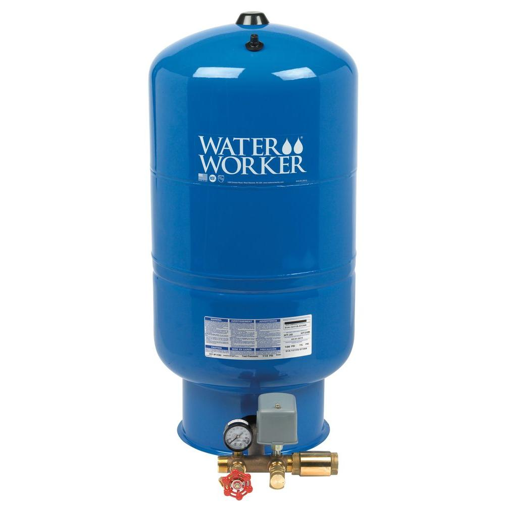 Pressurized Well Tank Pump Water Worker Air Charged
