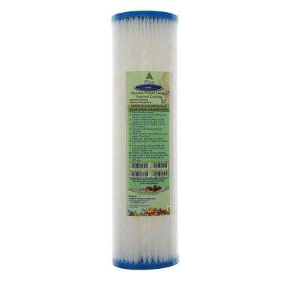 9-3/4 in. x 2-5/8 in. Reusable Pleated Water Filter Cartridge