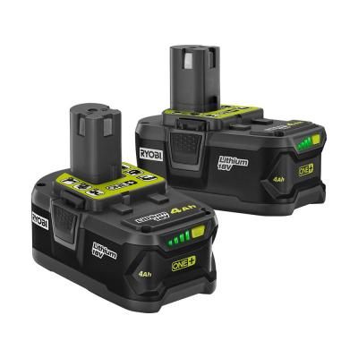18-Volt ONE+ 4.0 Ah Lithium-Ion Battery (2-Pack)