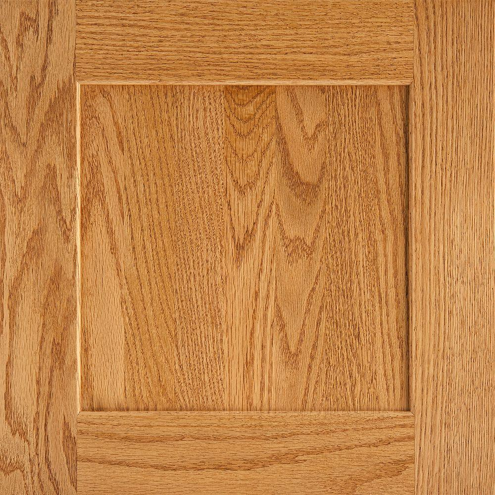 American Woodmark 14 9 16x14 1 2 In Reading Oak Cabinet