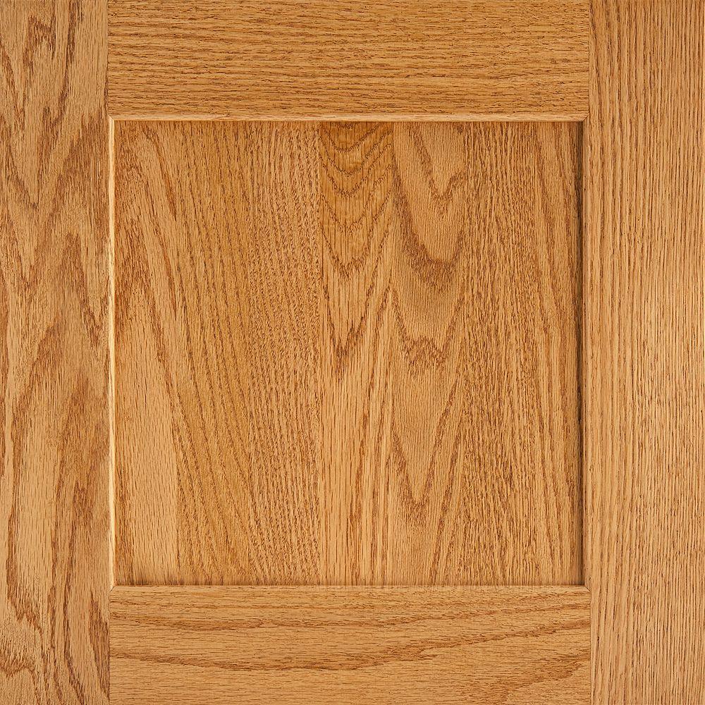 American Woodmark 14 9 16x14 1 2 In Reading Oak Cabinet