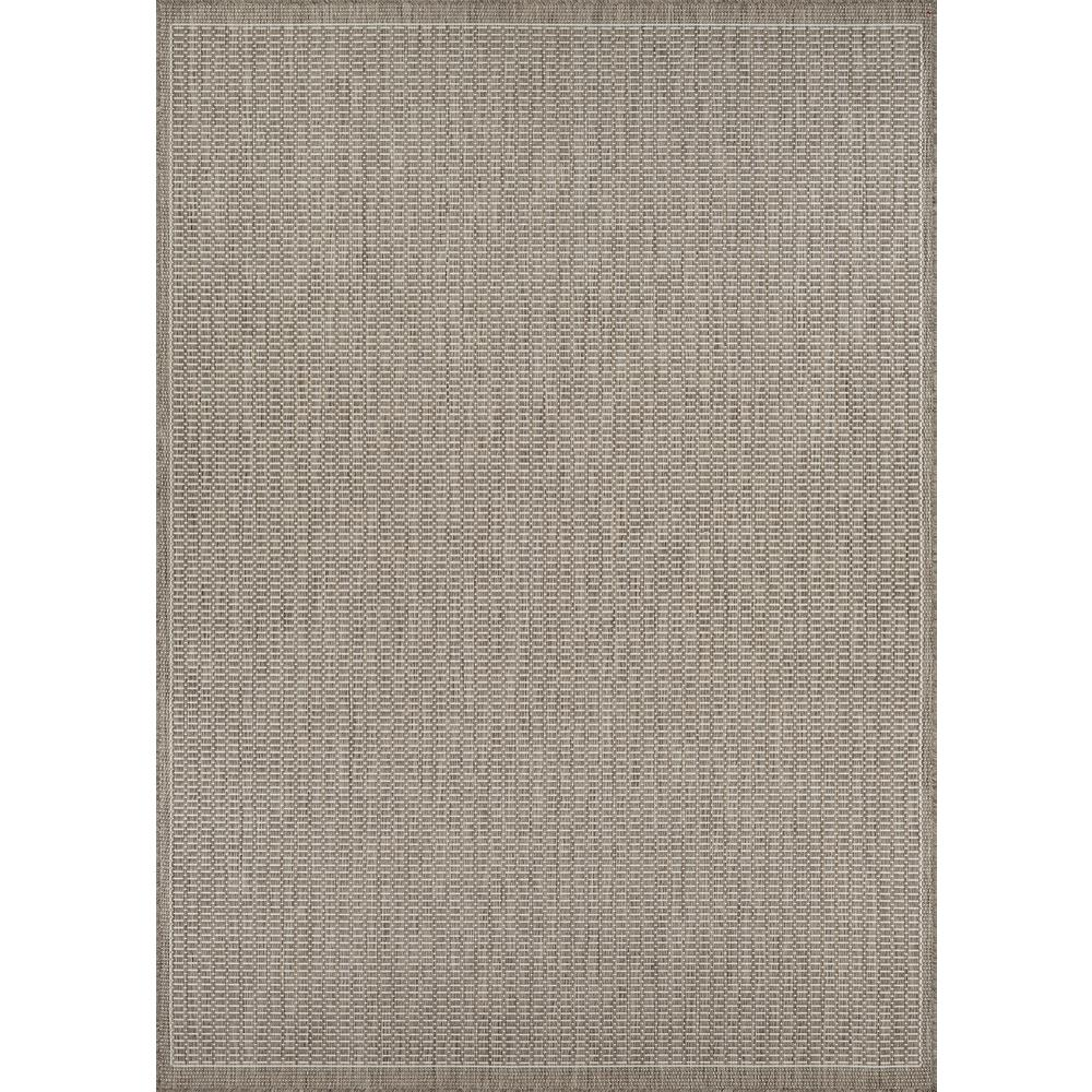 Couristan Recife Saddle Sch Champagne Taupe 5 Ft X 8 Indoor