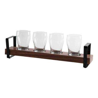 4.5 oz. Glass Beer Flight (Set of 4)