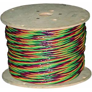 Click here to buy Southwire 1,000 ft. 12/3 Solid CU W/G Submersible Well Pump Wire by Southwire.