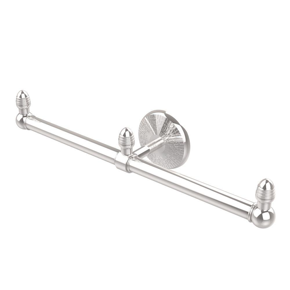 Monte Carlo Collection 2-Arm Guest Towel Holder in Polished Chrome