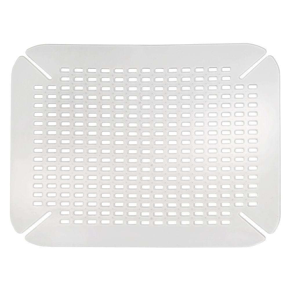 interDesign Contour Sink Mat in Clear