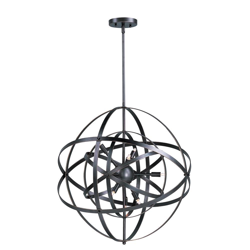 Maxim Lighting Sputnik 6-Light Bronze Rupert Pendant Maxim Lighting's commitment to both the residential lighting and the home building industries will assure you a product line focused on your lighting needs. With Maxim Lighting accessories you will find quality product that is well designed, well priced and readily available. Maxim has fixtures in a variety of styles and a strong presence in the energy-efficient lighting industry, Maxim Lighting is the clear choice for quality lighting.
