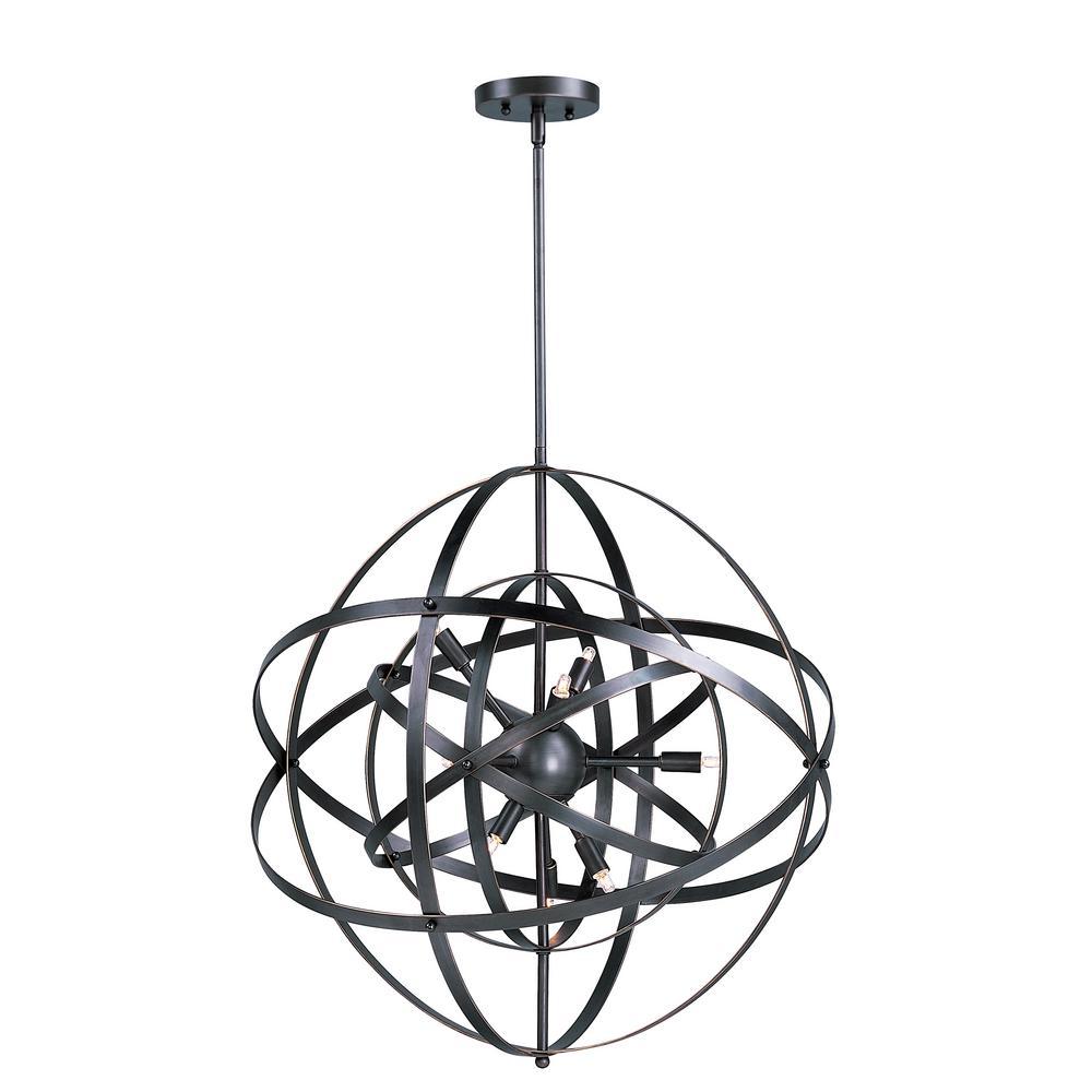 Sputnik 6-Light Bronze Rupert Pendant
