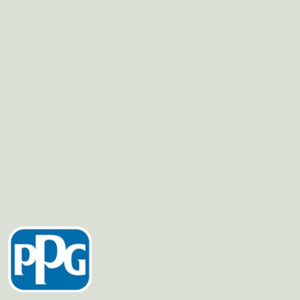 8 oz. #HDPPGCN15U Hint Of Green Satin Interior/Exterior Paint Sample