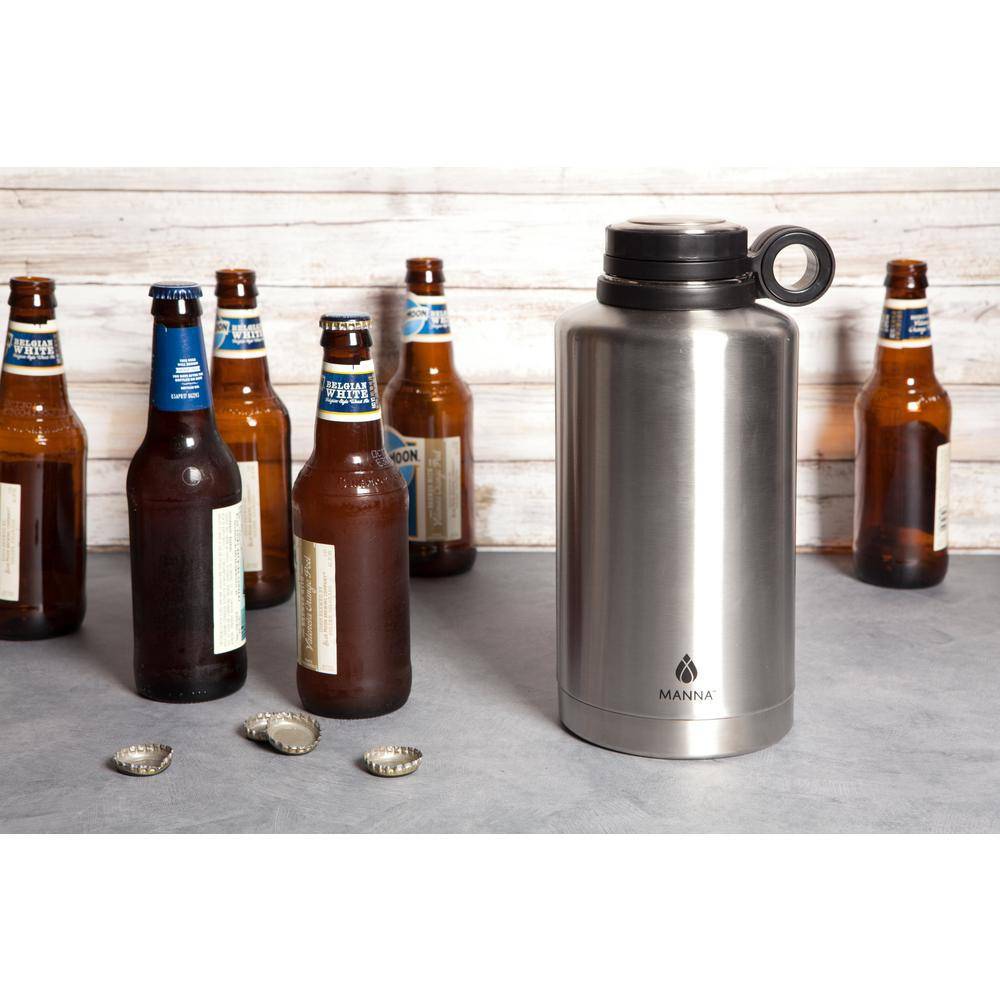 64 oz. Stainless Steel Vacuum Insulated Growler