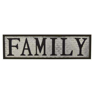 11 in. Novelty Sign Family