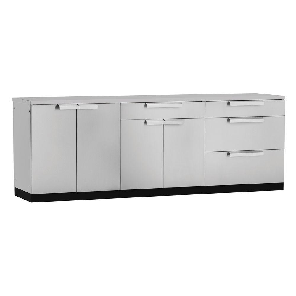 Stainless Steel Cabinets For Outdoor Kitchens: NewAge Products Stainless Steel Classic 33 In. Insert BBQ