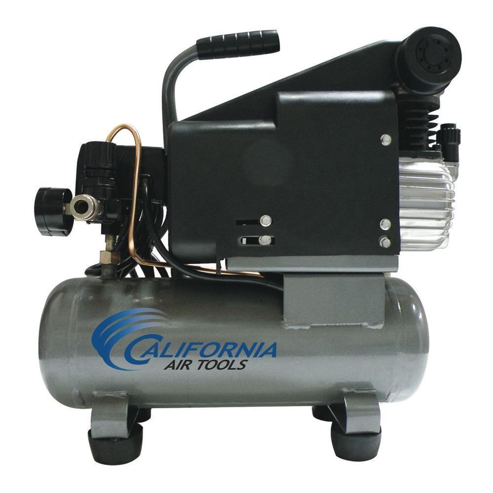 California Air Tools 1.6-Gal. 1 HP Steel Tank Oil Lubricated Air Compressor-DISCONTINUED
