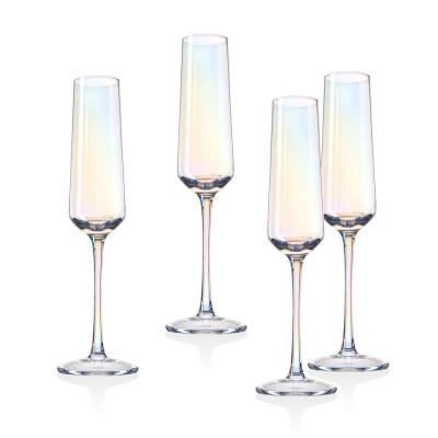 Monterey 6 oz. Crystal Champagne Flutes (Set of 4)