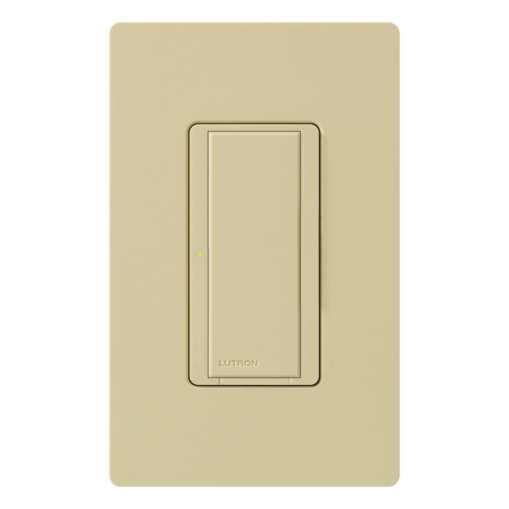 Lutron Maestro 8 A Multi-Location Digital Switch - Ivory-MA-S8AM-IV ...