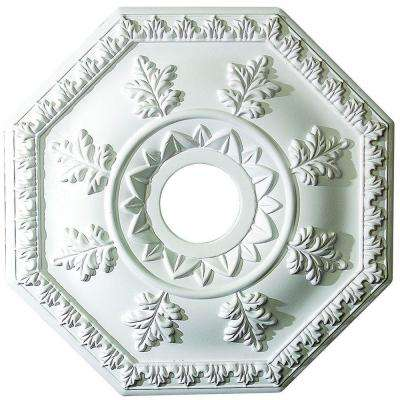 18 in. x 1-1/2 in. Leaf Polyurethane Ceiling Medallion
