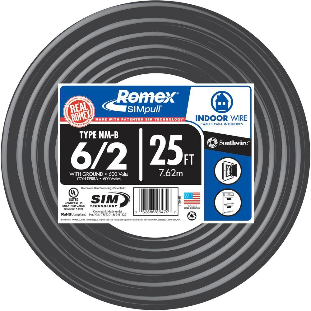 Romex Wire 60 Amp - WIRE Center •