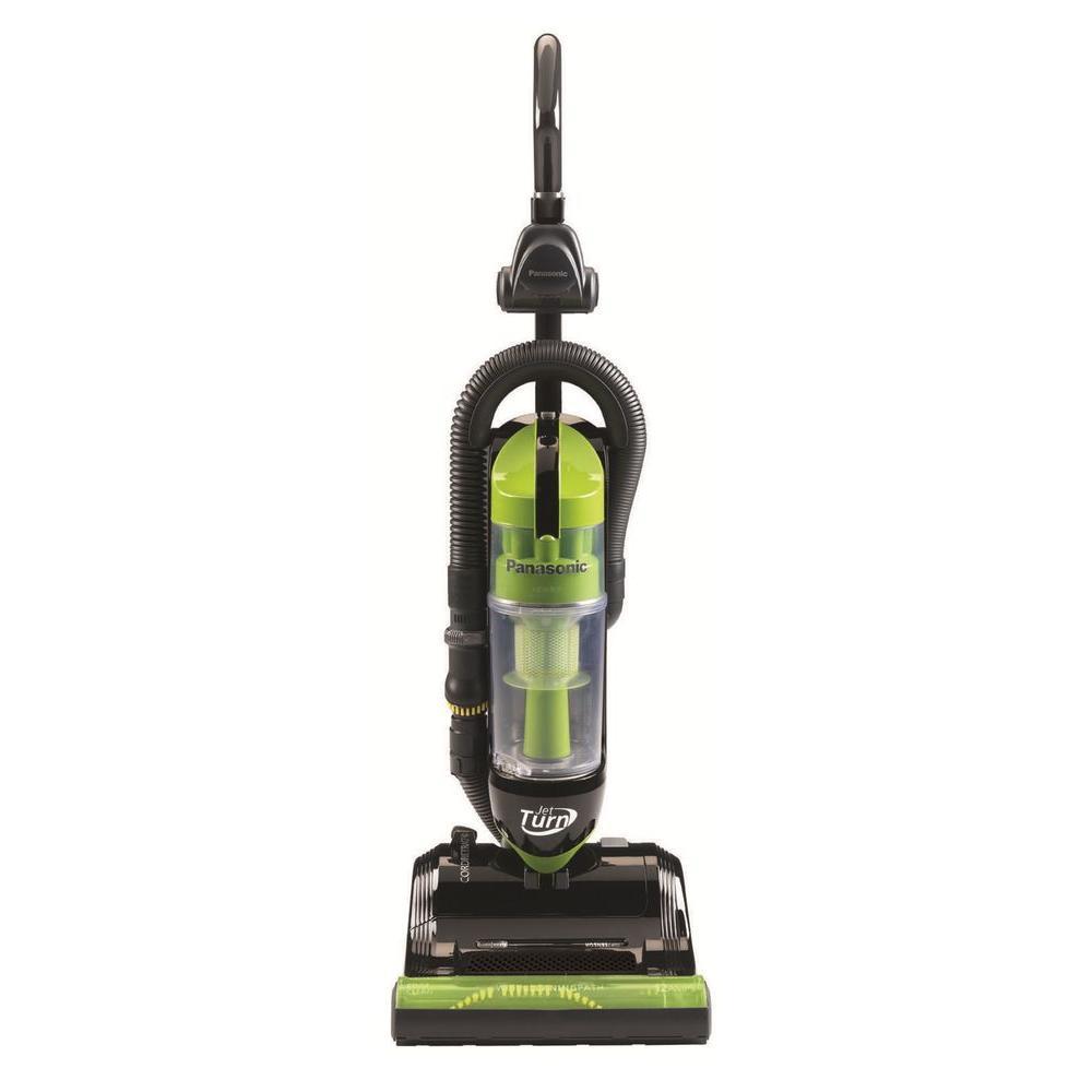 Panasonic JetTurn Upright Vacuum Cleaner in Green