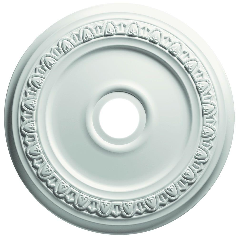 Focal Point 13 in. Egg and Dart Ceiling Medallion