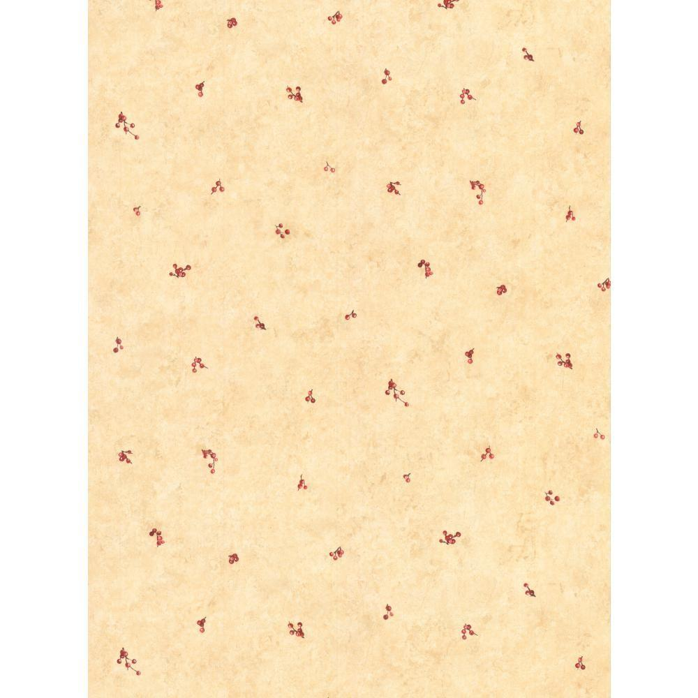 Country Keepsakes Mini Berry Spot Wallpaper